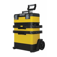 """1-95-621 Ящик с колесами """"Stanley® Rolling Workshop"""" металлопластмассовый желтый, 56,8 x 73 x 38,9 см"""