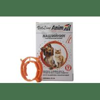 Ошейник противопаразитный AnimАll VetLine для кошек и собак, оранжевый, 35 см
