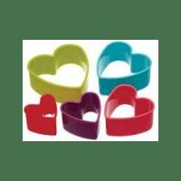 Форма для печенья Сердечки EMPIRE 8751 6 шт
