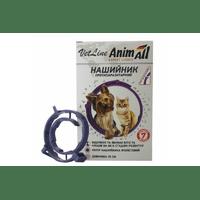 Ошейник противопаразитный AnimАll VetLine для собак, фиолетовый, 35 см