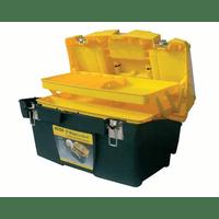 """1-92-911 Ящик для инструмента Stanley """"Mega Cantilever"""" пластмассовый с металлическими замками и 2-мя съемными органайзерами (23195), 49,5 x 26,5 x 26,1 см"""