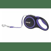 Поводок-рулетка AnimAll для собак весом до 25 кг, 5 м, фиолетовый