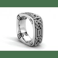обручка з кельтським орнаментом