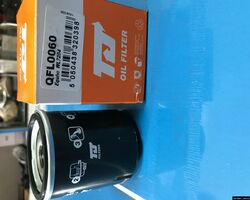 Фильтр масляный на Renault Kangoo 1.2 97-09 бензин QH