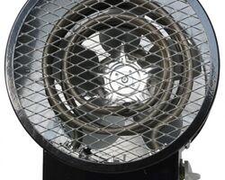 Прокат теплової пушки (агрегат повітряно-опалювальний), 220 В, 1.5 та 3.0 кВт, продукт. по повітрю 300 м³/год, 13.4 А, t° на виході: 30 та 32 °С, 4 та 6 кг