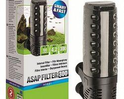Внутренний фильтр AQUAEL ASAP 300, 300 л/ч, для аквариумов объемом до 100 л