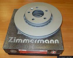 Тормозной диск передний OTTO ZIMMERMANN ( с покрытием ) на 1.9 / 2.0 / 2.5dci - RENAULT TRAFIC / OPEL VIVARO