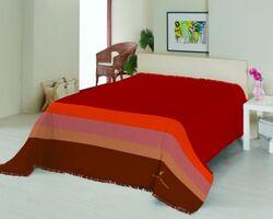 Плед на ліжко Le Vele Royal Stripes Terracotta