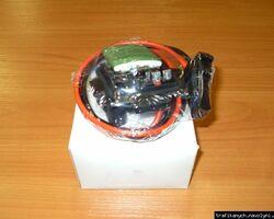 Реостат печки ( авто с кондиционером ) POLCAR на 1.9 / 2.0 / 2.5dci - RENAULT TRAFIC / OPEL VIVARO