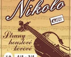 NICOLO cтруни для скрипки 3/4-4/4