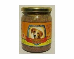 Влажный корм для собак Леопольд Мясные деликатесы с курицей и морковью 500 г