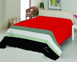 Плед на ліжко Le Vele Royal Stripes Red
