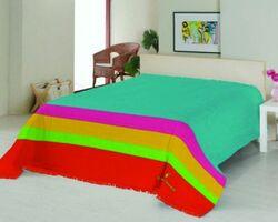 Плед на ліжко Le Vele Royal Stripes Turquoise