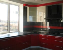 Сучасна кухня з гарним дизайном, замовити кухню луцьк