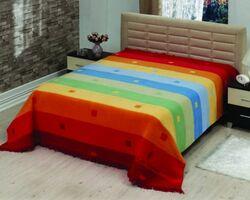 Плед на ліжко Le Vele Rainbow Orange