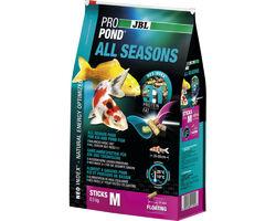 Всесезонный корм JBL ProPond All Seasons M для средних кои и других прудовых рыб, 5.8 кг