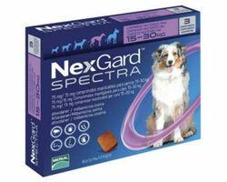 Таблетки Boehringer Ingelheim NexGard Spectra против паразитов для собак L, 15-30 кг, 1 таблетка
