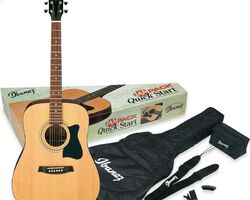 IBANEZ V50NJP NT гітарний набір (+чохол, тюнер, медіатор, ремінь)