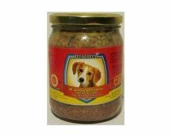 Влажный корм для собак Леопольд Мясные деликатесы с мясом телятины 500 г