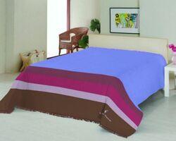Плед на ліжко Le Vele Royal Stripes Blue