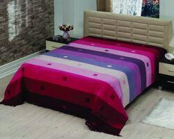 Плед на ліжко Le Vele Rainbow Purple