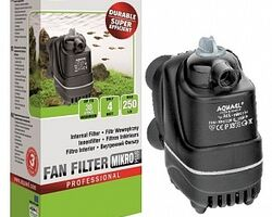 Внутренний фильтр AQUAEL FAN MICRO PLUS, 250 л/ч, для аквариумов объемом до 30 л