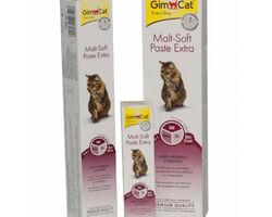 GimCat (Джим Кэт) Malt-Soft Paste Extra Паста для выведения шерсти и улучшения моторики желудка у кошек, 20 г.