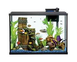 Resun STH-140 аквариум с фильтром и освещением, 762x316x558 мм, 140 литров