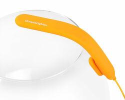 AquaLighter PicoSoft - инновационный гибкий LED светильник для круглых аквариумов. Жолтый
