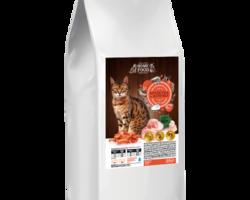 Home Food с креветками и курицей для взрослых кошек, 0,400 кг