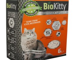 Наповнювач BioKitty Super Premium White Activated Carbon 6 л