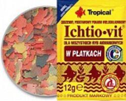 Корм Tropical Ichtio-vit хлопья 12 г