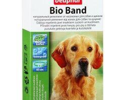 Beaphar Bio band ошейник для собак и щенков антипаразитарный ошейник с натуральными маслами для собак и щенков Артикул: 10665 Длина : 65 см