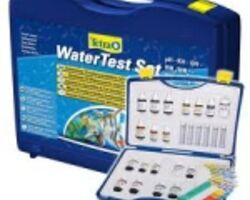 Набор тестов для воды, лаборатория Tetra WaterTest Set Plus. Мини тест лаборатория, поможет вам определить важные показатели воды в рыборазводческой системе, пруду и аквариуме. Кислород, жесткость, к