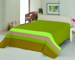 Плед на ліжко Le Vele Royal Stripes Green