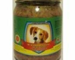 Влажный корм для собак Леопольд Мясные деликатесы с мясом ягненка 500 г