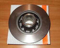 Тормозной диск задний без подшипника ABS на 1.9 / 2.0 / 2.5dci - RENAULT TRAFIC / OPEL VIVARO