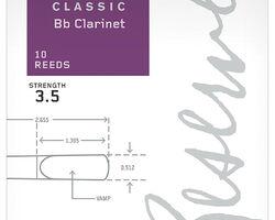 D'ADDARIO Reserve Classic Bb Clarinet <3,5> тростина для кларнета