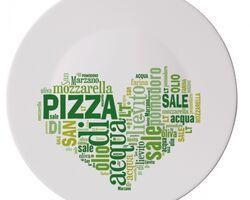 Блюдо для пиццы 419320F GREEN RONDA (30см)