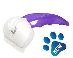 FoOlee Easee (Medium) Дешеддер ФОЛИ ИЗИ СРЕДНИЙ для удаления линяющей шерсти собак и кошек, ширина картриджа 6,5 см