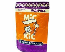 МИС КИС пауч - консервированный мясной деликатес с индейкой для кошек , 100 гр