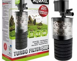 Внутренний фильтр AQUAEL TURB5O 00, 500 л/ч, для аквариумов объемом до 150 л