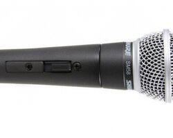 SHURE SM58SE вокальний мікрофон