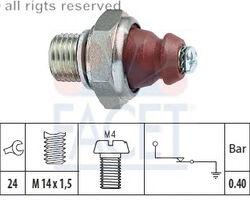 EPS 1.800.074 Датчик давления маслa MERCEDES-BENZ: 208, 210, 308310 M102 85-