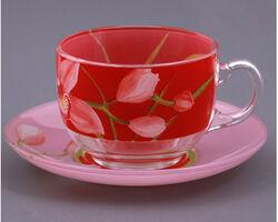 Чайный сервиз LUMINARC RED ORCHIS G0670