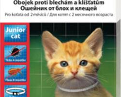 БЕАФАР SOS ошейник для котят с 6-недельного возраста против блох и клещей (белый 12517), 35 смBeaphar (Біфар)