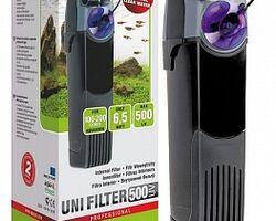 Внутренний фильтр AQUAEL UNI FILTER 500 UV POWER со стерилизационной насадкой, 500 л/ч, для аквариум