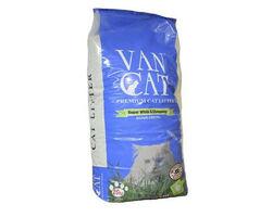 Бентонитовый наполнитель VanCat Natural для туалета, 20 кг