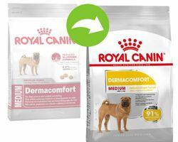 ROYAL CANIN Medium Dermacomfort (раздражение кожи и зуд) 10 кг
