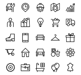 Розробка іконок для сайту